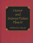 Horror and Science Fiction Films IV Book