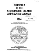 Curricula in the Atmospheric and Oceanographic Sciences