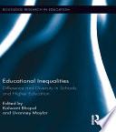 Educational Inequalities