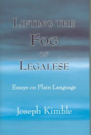 Lifting the Fog of Legalese