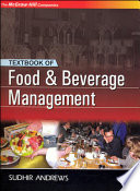 Textbook Of Food   Bevrge Mgmt