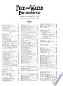 Fire and Water Engineering Book PDF