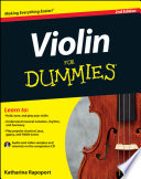 Violin For Dummies 2nd Edition