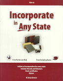 How to Incorporate in Any State