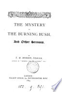 The mystery of the burning bush  and other sermons