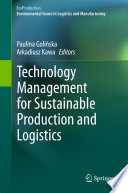 Technology Management for Sustainable Production and Logistics Book