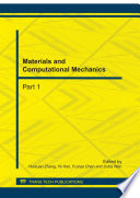 Materials And Computational Mechanics Book PDF