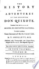 The History and Adventures of the Renowned Don Quixote 3