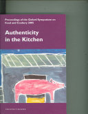 Pdf Authenticity in the Kitchen