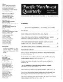 Pacific Northwest Quarterly
