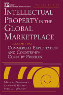 Intellectual Property in the Global Marketplace, Valuation, Protection, Exploitation, and Electronic Commerce