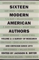 Sixteen Modern American Authors