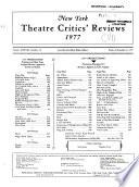 New York Theatre Critics' Reviews