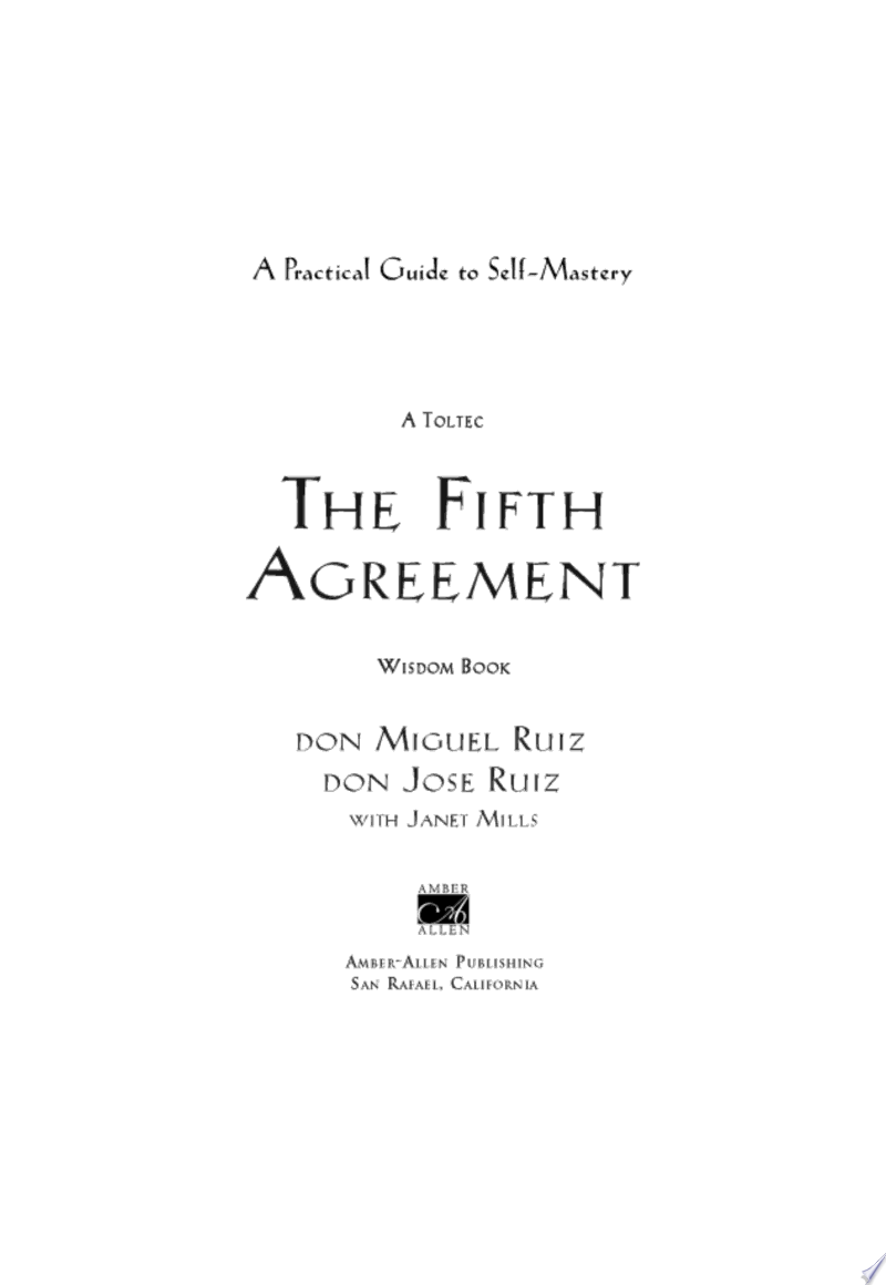 The Fifth Agreement image