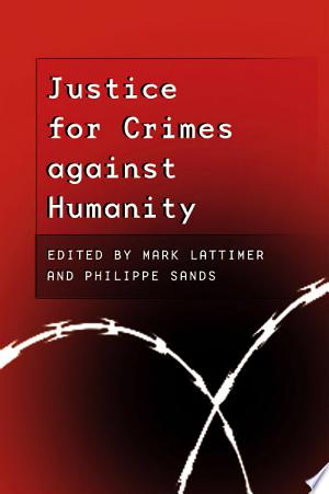 Justice for Crimes Against Humanity banner backdrop