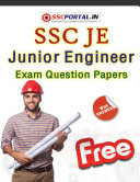 Pdf SSC JUNIOR ENGINEER (JE) Exam Solved Question Papers PDF