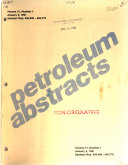 Petroleum Abstracts Book PDF