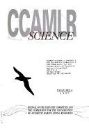 CCAMLR Science