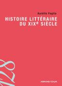 Pdf Histoire littéraire du XIXe siècle Telecharger