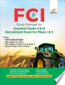 FCI Study Package for Assistant Grade II   III Recruitment Exam for Phase I   II 2nd Edition