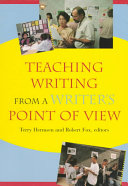 Teaching Writing From A Writer S Point Of View