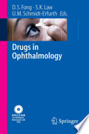 Drugs in Ophthalmology Book