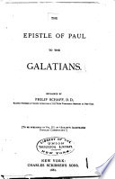 The Epistle of Paul to the Galatians Book