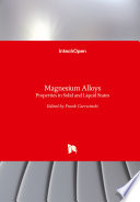 Magnesium Alloys Book