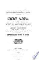 Compte rendu des travaux du congrès