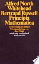 Principia mathematica  : Vorwort und Einleitungen