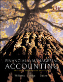 Cover of Financial and Managerial Accounting