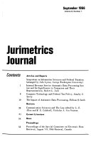 Jurimetrics Journal