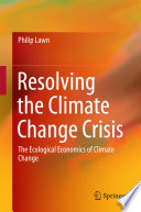 Resolving the Climate Change Crisis