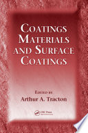 Coatings Materials and Surface Coatings