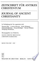 Journal of ancient Christianity
