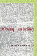 On Touching, Jean-Luc Nancy