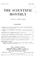 The Scientific Monthly