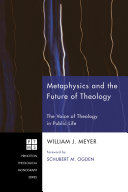 Metaphysics and the Future of Theology