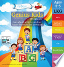 Genius Kids Worksheets for Lkg - Set of 8 Workbooks for LKG, KG-1 and Montessori (3-5 yrs) - Math & Logic, English, Science, Games & Activities