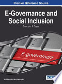 E Governance And Social Inclusion Concepts And Cases