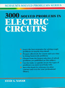 Schaum s 3000 Solved Problems in Electric Circuits