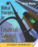 Biblical Principles For Financial Success Student Workbook