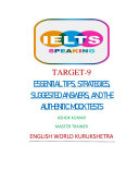 IELTS SPEAKING TARGET 9