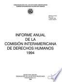 Informe anual de la Comisión Interamericana de Derechos Humanos a la Asamblea General