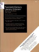 Read Online Twentieth-Century Literary Criticism Annual Cumulative Title Index Epub