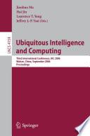 Ubiquitous Intelligence and Computing Book