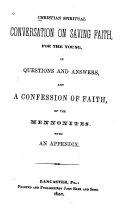 Christian Spiritual Conversation on Saving Faith for the Young