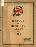 History of Michigan Camps 1928