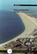 Beach Management Manual