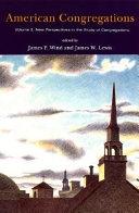 American Congregations  Volume 2